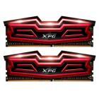 ADATA XPG DAZZLE 16GB DDR4 3000MHz / DIMM / CL16 / červená / KIT 2x 8GB