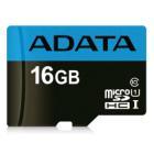 Paměťová karta ADATA Premier Micro SDHC 16GB Paměťová karta, 16 GB, Micro SDHC, UHS-I CL10 85