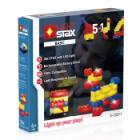 Stavebnice Light STAX Basic V2 5 v 1 Stavebnice, 30 dílků, svítící LED kostky, Li-Pol základna, kompatibilní s LEGO