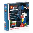 Stavebnice Light STAX Creative V2 4 v 1 Stavebnice, 50 dílků, svítící LED kostky, Li-Pol základna, kompatibilní s LEGO