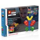 Stavebnice Light STAX Shine V2 3 v 1 Stavebnice, 75 dílků, svítící LED kostky, Li-Pol základna, kompatibilní s LEGO
