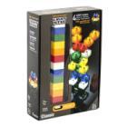 Stavebnice Light STAX Classic 24 STAX 2x2 Stavebnice, 24 dílků, svítící LED kostky, 3x AAA základna, kompatibilní s DUPLO