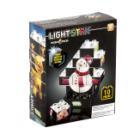 Stavebnice Light STAX PUZZLE SET Snowman Stavebnice, 10 dílků, svítící LED kostky, 3x AAA základna, kompatibilní s DUPLO