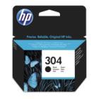 Inkoustová náplň HP 304 (N9K06AE) černá Inkoustová náplň, originální, pro HP DeskJet 2620, 2630, 4ml, 120 stran, černá