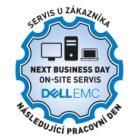 DELL prodloužení záruky o 1 rok on-site NBD/ následující pracovní den u zákazníka/ pro notebooky a P