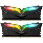 Operační paměť Team T-Force Night Hawk RGB 16GB Operační paměť, DDR4, 16 GB (2x 8 GB kit), 3200 MHz, DIMM, CL16-18-18-38, 1,35V