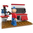 Stavebnice Sluban Pat & Mat At the Workbench Stavebnice, 45 dílků, kompatibilní s LEGO