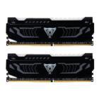 PATRIOT Viper LED 16GB DDR4 2400MHz / DIMM / CL14 / BKL WHITE LED / Heat shield / KIT 2x 8GB