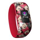 Fitness náramek Garmin vívofit junior2 Minnie Fitness náramek, LCD 11 x 11 mm, Bluetooth, Minnie Mouse, červený