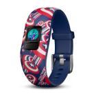Fitness náramek Garmin vívofit junior2 Cp. America Fitness náramek, LCD 11 x 11 mm, Bluetooth, Captain America, modrý