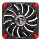 Ventilátor MSI Torx Fan 12 cm Ventilátor, 120 mm, hydro-dynamická ložiska, 500-1800 ot., PWM, max 33 dBa, černo - červený