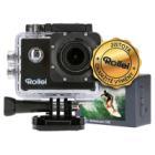 Kamera Rollei ActionCam 510 Kamera, outdoor, 12Mpx, 2.7K/20fps, 1080p/30fps, 140°, 40m pzd., Wi-Fi, Černá