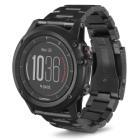 GARMIN GPS chytré hodinky fenix3 Sapphire Titanium Optic, DLC Band
