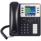 VoIP telefon Grandstream GXP-2130 VoIP telefon,  TFT bar. displej, 3x SIP, 2x 10/100/1000port, PoE, Hd zvuk