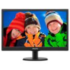 "LED monitor Philips 193V5LSB2 18,5"" LED monitor, 18,5"", 1366 x 768, TFT, 16:9, 5ms, 200cd/m2, D-SUB, VESA 100x100, černý"