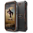 """Mobilní telefon iGET Blackview GBV4000 Mobilní telefon, Dual SIM, Quad Core 1,3GHz, 1GB RAM, 8GB, 4,7"""" IPS, 13 MPx+5 MPx, 3G, IP68,  Android 7, černo-oranžový"""