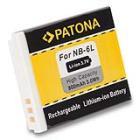 Baterie PATONA kompatibilní s Canon NB-6L Baterie, pro fotoaparát, 800mAh, Li-Ion