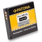 Baterie PATONA kompatibilní s Canon NB-8L Baterie, pro fotoaparát, 740mAh, Li-Ion