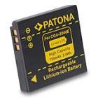 Baterie PATONA kompatibilní s Panasonic S008E Baterie, pro fotoaparát, 750mAh, Li-Ion