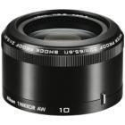 Objektiv Nikon 10MM F2.8 AW 1 NIKKOR Objektiv, Nikon 1, 10 mm, f/2,8, AW, černý