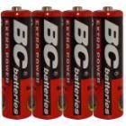Baterie BC R6 4P Extra Power Baterie, tužková, 4ks 1.5V AA, zinko-chloridová, blistr