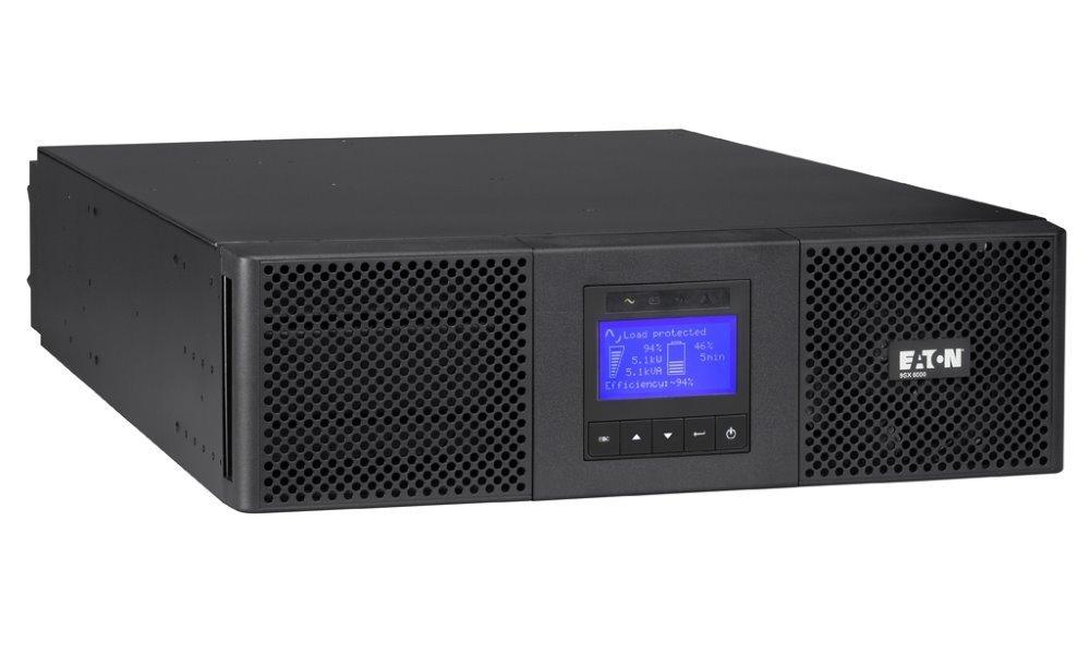 Záložní zdroj UPS EATON 9SX 5000i RT3U Záložní zdroj UPS, 1/1 fáze, 5 kVA 9SX5KiRT