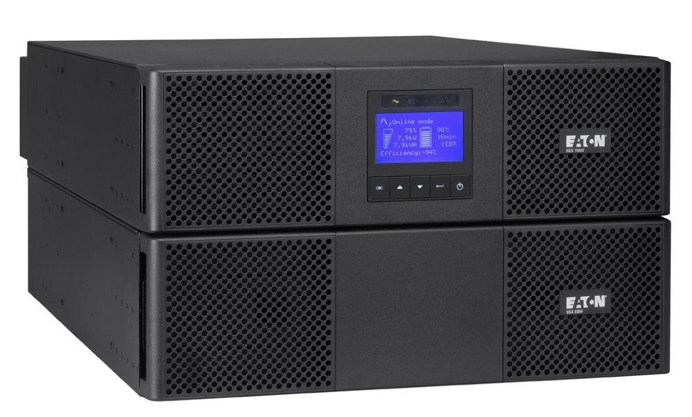 Záložní zdroj UPS EATON 9SX 8000i Záložní zdroj UPS, 6U, 1/1 fáze, 8 kVA 9SX8Ki