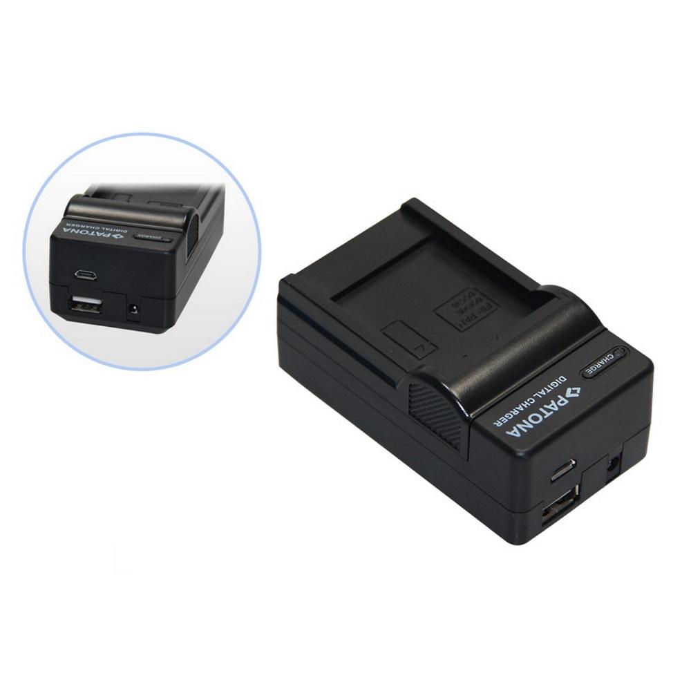 Nabíječka PATONA 4v1 kompatibilní s Olympus Li-40B Nabíječka, pro fotoaparát, 4v1, Olympus Li-40B, Li-42B, 230V, 12V PT5531
