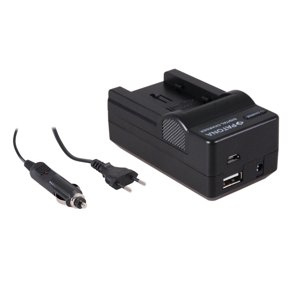 Nabíječka PATONA 4v1 kompatibilní s JVC VG107U Nabíječka, pro videokameru, 4v1, JVC VG107U, VG114U, 230V, 12V PT5609