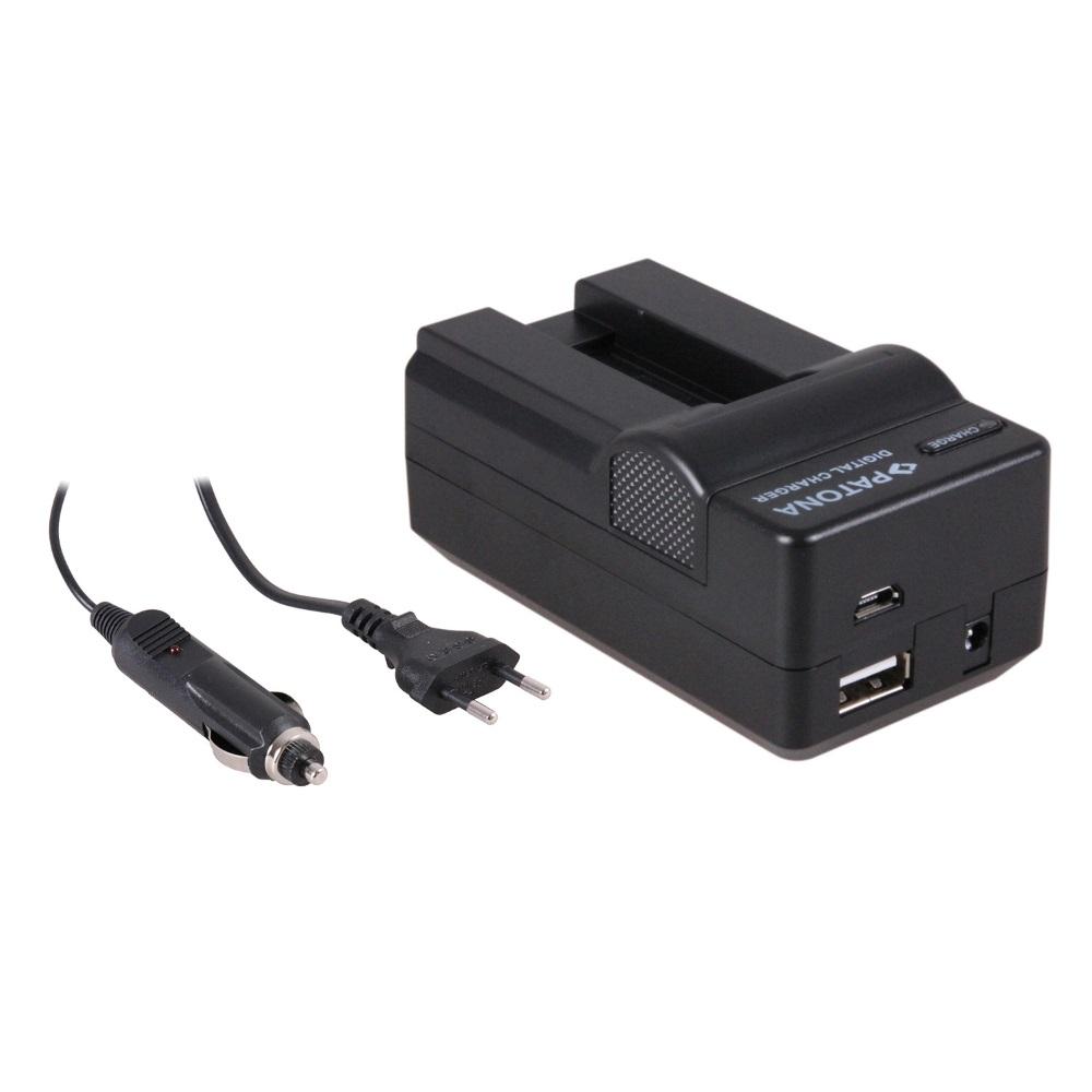 Nabíječka PATONA 4v1 kompatibilní s Canon NB-9L Nabíječka, pro fotoaparát, 4v1, Canon NB-9L, 230V, 12V PT5621