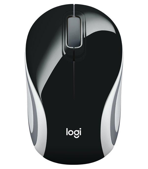 Myš LOGITECH M187 Myš, bezdrátová, optická, černá 910-002731