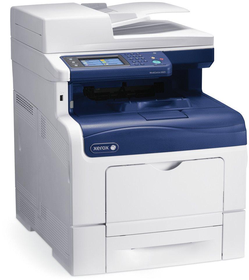 Multifunkční tiskárna Xerox WorkCentre 6605V_DN Barevná multifunkční laserová tiskárna, A4, USB, Ethernet, 256MB, DUPLEX, DADF, 35ppm 6605V_DN