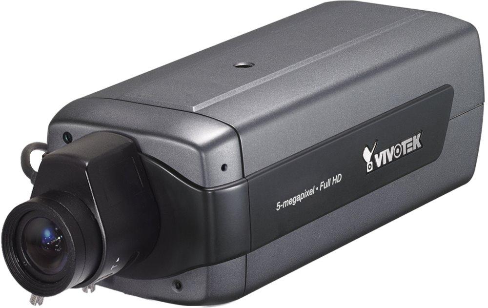 IP kamera VIVOTEK IP8172P IP kamera, MPEG-4/MJPEG/H.264, CMOS, max.2560 x 1920 5 Mpix, až 25 sn/s, P-Iris, obj. 2,8 - 12 mm F1.2, D IP8172P
