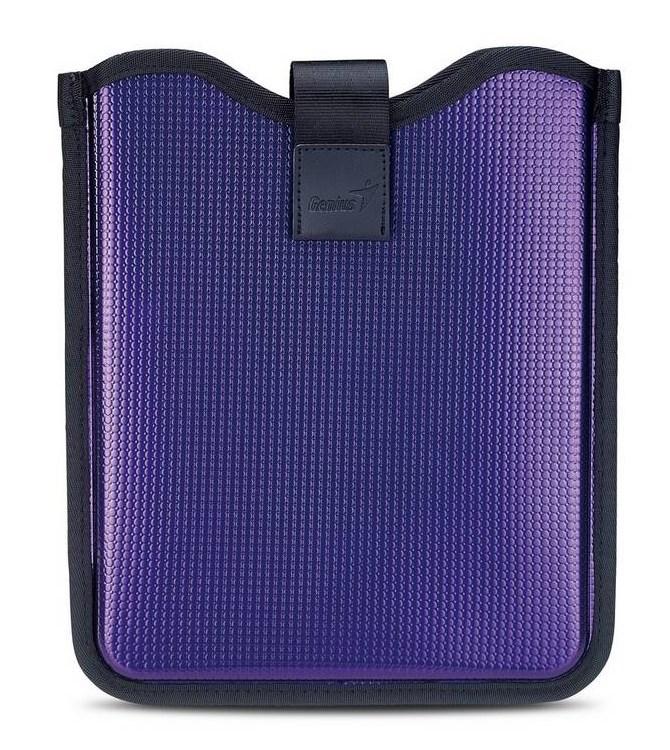 Pouzdro Genius GS-1080 Pouzdro, tvrdé, pro tablety, 10, fialové 31280054102
