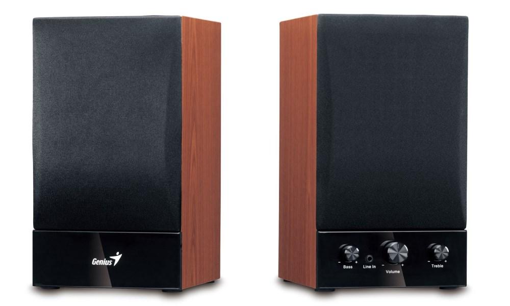 Reproduktory Genius SP-HF1250B Reproduktory, 2.0, 40W, dřevěné 31731022100