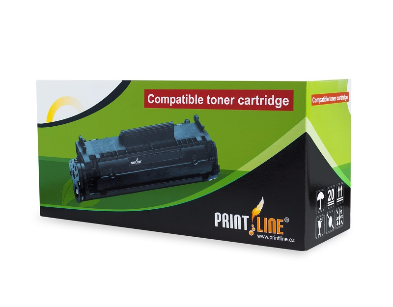 PRINTLINE kompatibilní toner s Samsung CLP-C350A /  pro CLP-350  / 2.000 stran, azurový