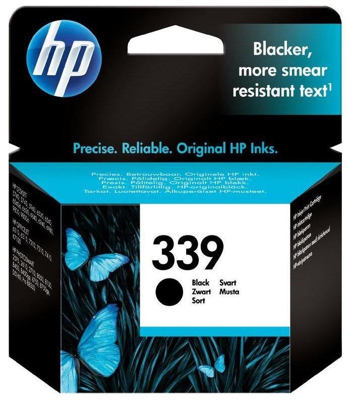 Cartridge inkoustová náplň HP 339 HP C8767EE - ink. černá, DJ 5740,6540 C8767EE
