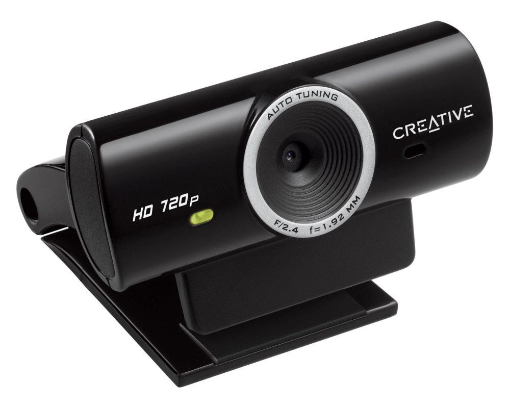 Webkamera Creative Live! Cam Sync HD Webkamera, HD 720p, 1280x720, 3,7 MPix, 1.5 m, USB2.0 73VF077000001