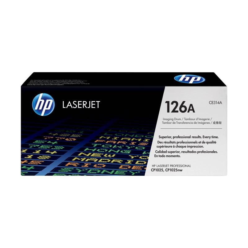 Tiskový válec HP 126A Tiskový válec, pro tiskárny HP LaserJet Professional CP1025, CP1025nw, 14000 stran černobíle, 7000 stran barevně CE314A