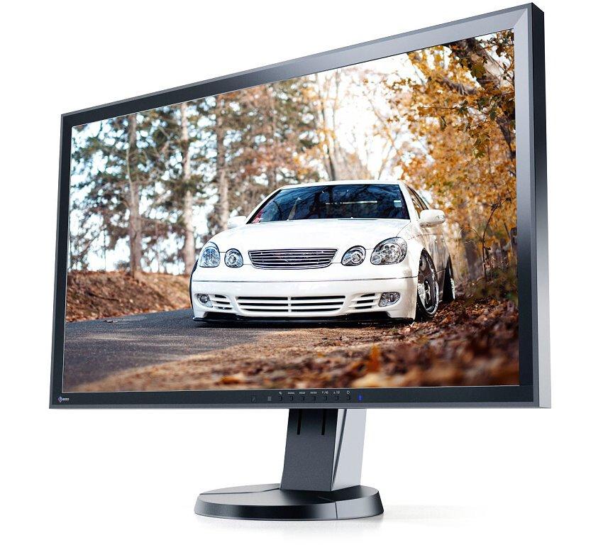 LED monitor EIZO EV2736WFS-BK 27 LED monitor, IPS, 2560 x 1440, sRGB, K=1000:1, 3-300cd,m2, 6ms, DVI-D, 8-bit DP, 2xUSB, černý EV2736WFS3-BK