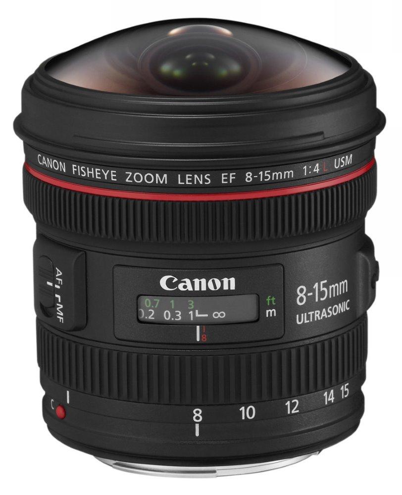 Objektiv Canon EF 8 - 15 mm f/4 L USM Fisheye Objektiv, EF, 8 - 15 mm, f/4 L, USM, Fisheye 4427B005AA