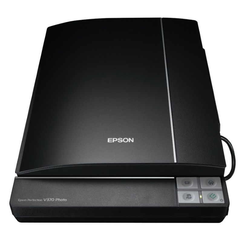 Skener EPSON Perfection V370 Photo Skener, stolní, A4, 4800 x 9600dpi, 3,2 Dmax, USB B11B207313