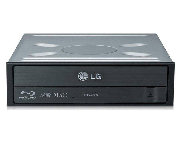 Blu-ray mechanika LG BD-RW BH16NS Blu-ray mechanika, interní, 16x SATA, černá, bulk BH16NS55.AUAU