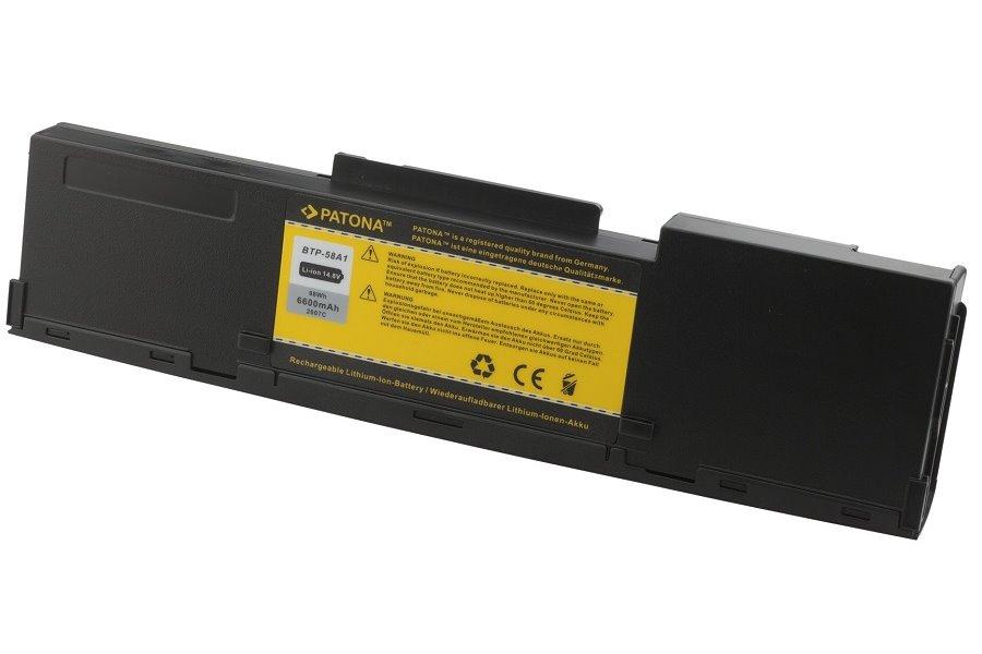 Baterie PATONA pro ACER 6600 mAh Baterie, 6600 mAh, pro notebooky ACER Aspire, TravelMate, Extensa, neoriginální PT2007