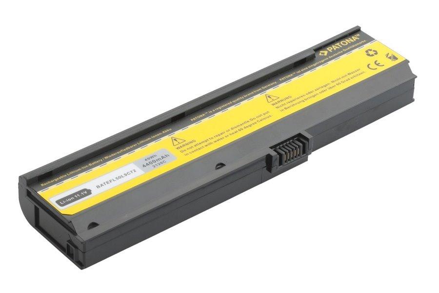 Baterie PATONA pro Acer 4400 mAh Baterie, pro notebook, 4400mAh, Li-Ion, 11,1V, 6-článková, pro Acer Aspire, TravelMate