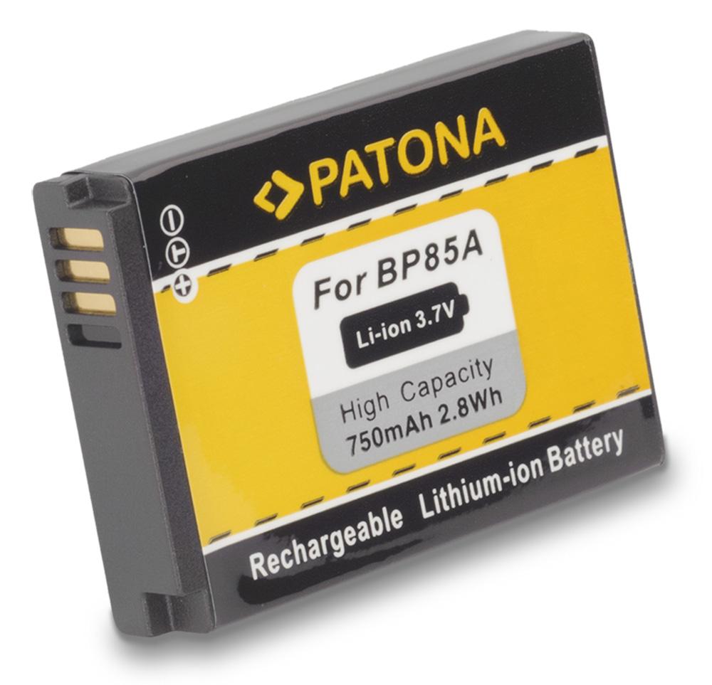 Baterie PATONA kompatibilní s Samsung BP85a Baterie, pro fotoaparát, 750mAh, 3,7V, Li-Ion PT1109