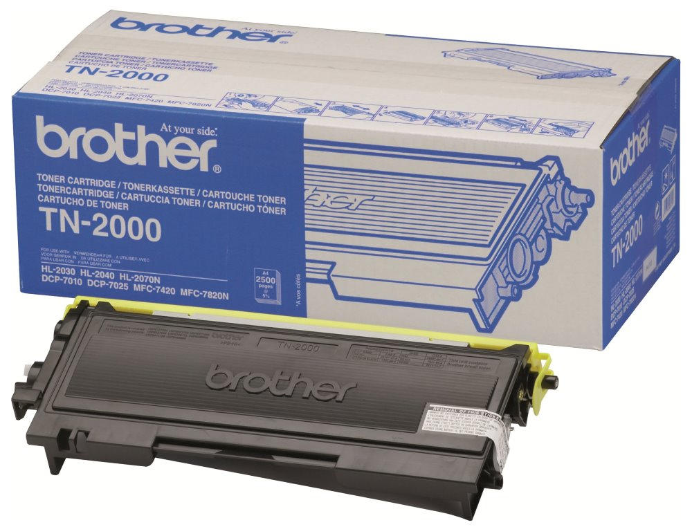 Toner Brother TN-2000 HL-20x0,DCP-7010, 2500 str. TN2000