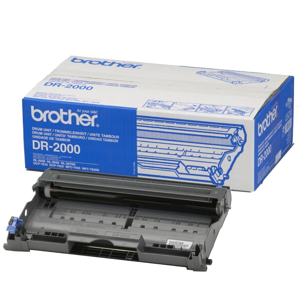 Tiskový válec Brother DR-2000 Tiskový válec, pro tiskárny Brother HL-20x0 a DCP/MFC-7010L, MFC-7420, 7820, FAX-2920, 12000 stran DR2000YJ1