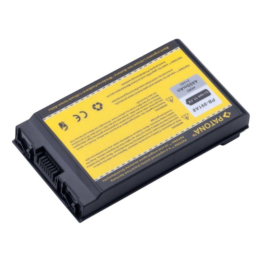 Baterie PATONA pro HP 4400 mAh Baterie, pro notebook, 4400mAh, Li-Ion, 11,1V, 6-článková, pro HP Compaq NC4200, NC4400, TC-4200, TC-4400