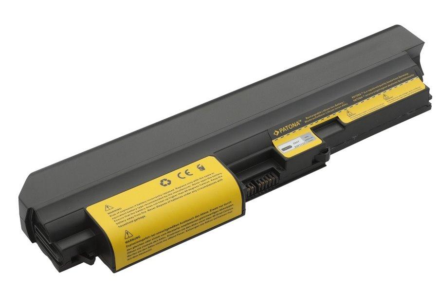 Baterie PATONA pro IBM 4400 mAh Baterie, 4400 mAh, pro notebooky IBM ThinkPad Z60t, Z61t, neoriginální PT2164